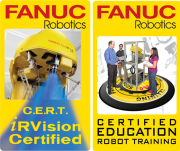 FANUC Robotics iRvision and Material Handling certification