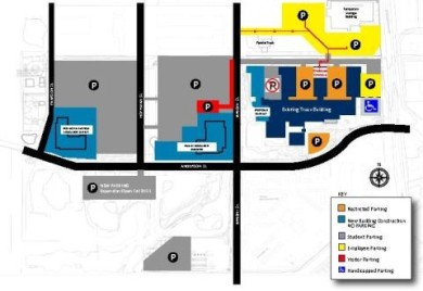 Matc Campus Map.Amst Madison College Parking